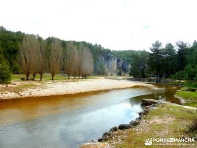 Integral Cañón Río Lobos; viajes de senderismo; grupo de senderismo madrid;material de mochila